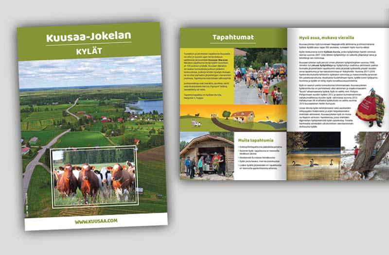 Kuusaa-Jokelan kylät