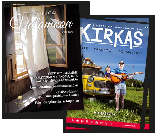 Lehden tai julkaisun taitto ja toteutus