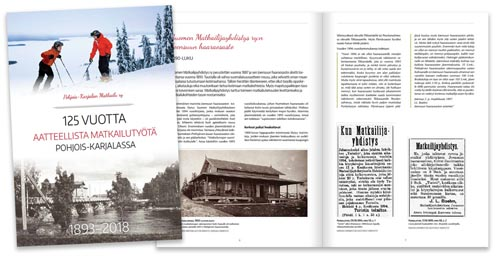 Vuosikertomuikset ja historiikit